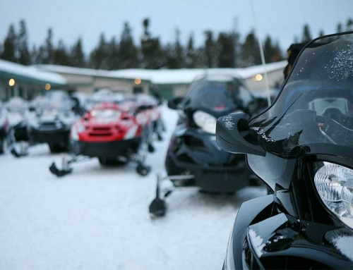 Welcome Snowmobilers